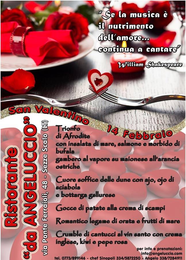 San Valentino al Ristorante da Angeluccio