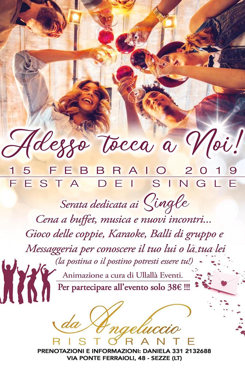 Festa dei single 2019