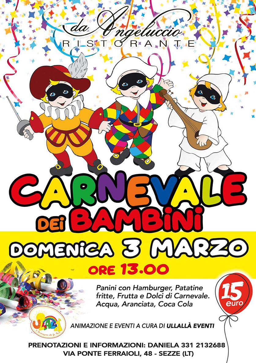 Carnevale dei bambini 2019